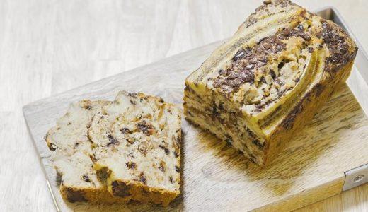 簡単!しっとり仕上がるチョコバナナパウンドケーキのレシピ