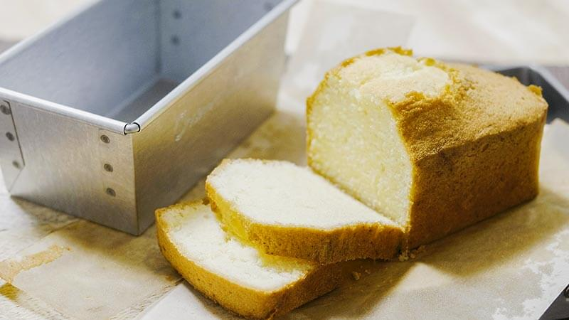 小嶋ルミ先生監修の型で焼くプレーンパウンドケーキ